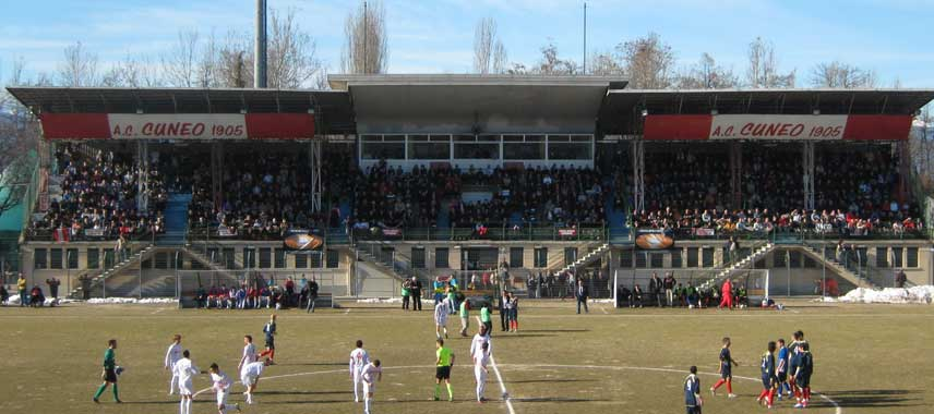 The main stand of Stadio Pashiero