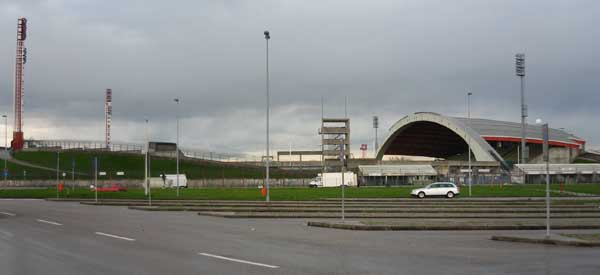 Stadio Friuli from outside.