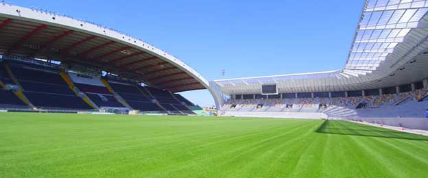 Half of new Stadio Friuli