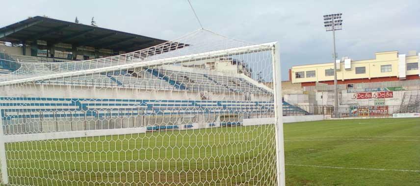 Empty stands of Stadio Gian Domenico Tursi