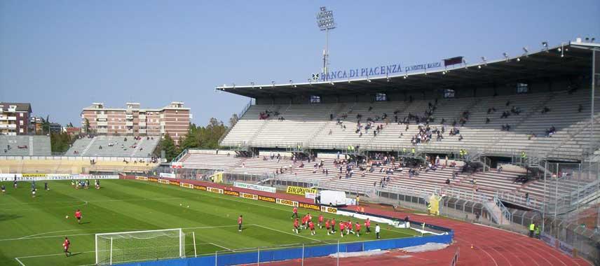 Inside Stadio Leonardo Garilli