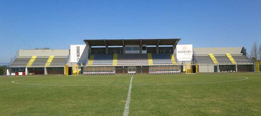 The main stand of Stadio Liberi Masini