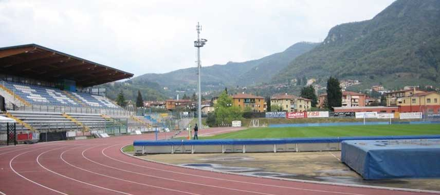 Majestic view of Stadio Link Turina