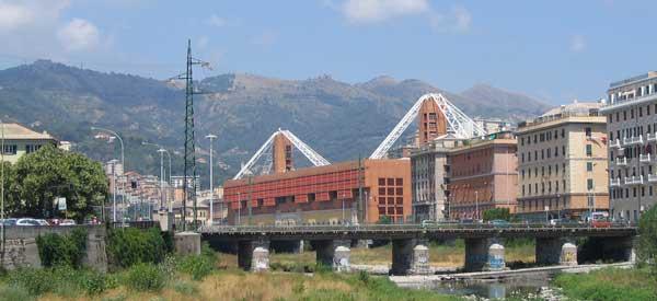Stadio Lugi Ferraris exterior