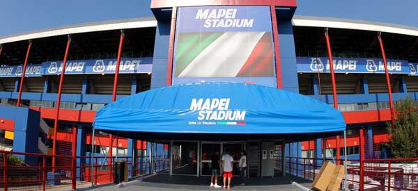 Entrance of Stadio Mapei