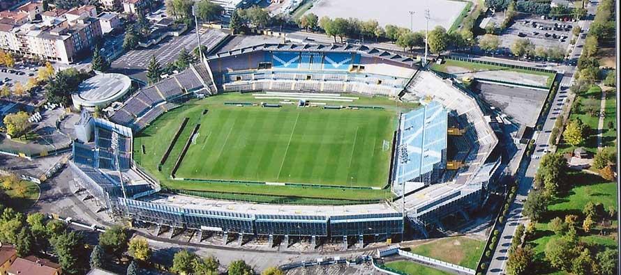Brescia stadium Aerial