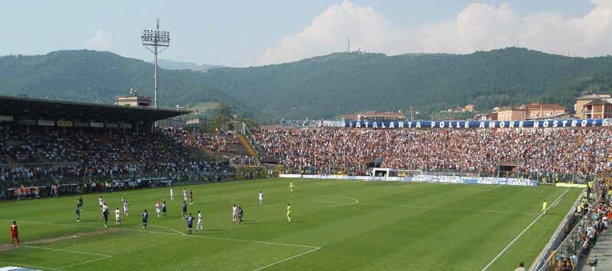 Stadio Mario Rigamonti during a match