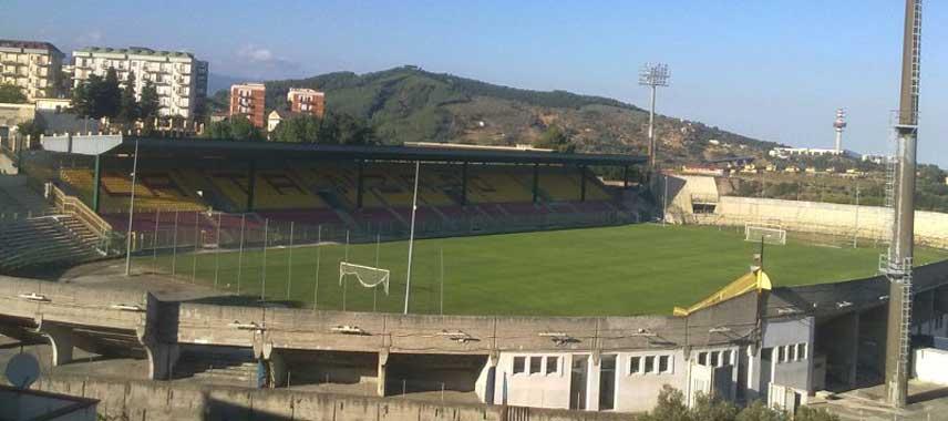 Mountain view of Stadio Nicola Ceravolo