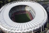Aerial view of Stadio Olimpico Rome