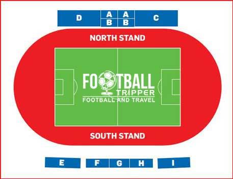 Stadium plan of San Marino's stadium