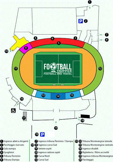 stadio-partenio-adriani-lombardi-seating-plan