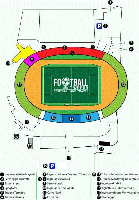 stadio-partenio-adriani-lombardi-seating-plan