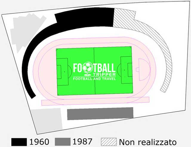 Stadio Polisportivo Privinciale Seating Plan