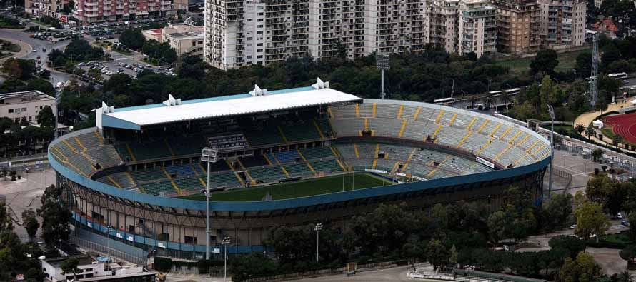 Aerial View of Stadio Renzo Barbera