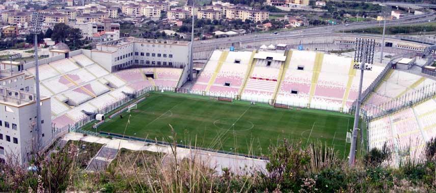 Aerial view of Stadio San Filippo