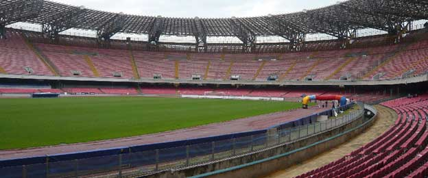 Inside Stadio San Paolo