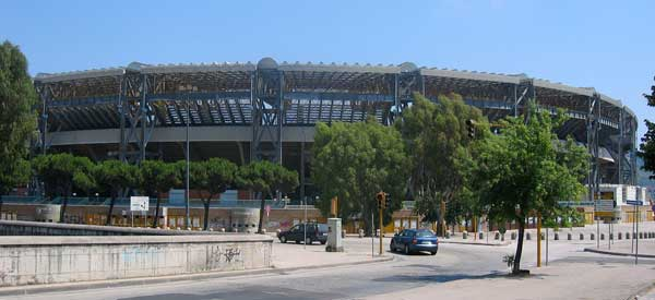 Exterior of Stadio San Paolo