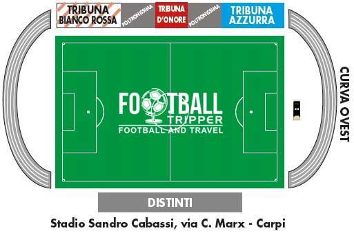 StadioSandro Cabassi Carpi Seating Plan