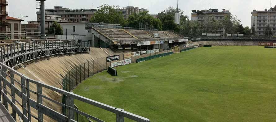 Inside Stadio Sandro Cabassi