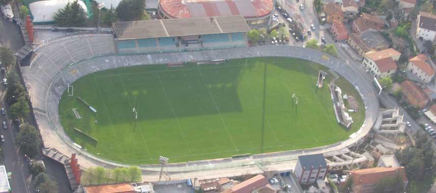 Aerial view of Stadio Tommaso Fattori