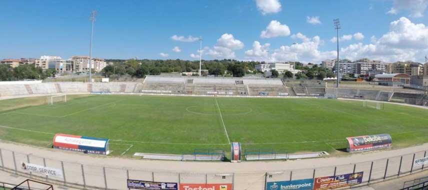 Overlooking Stadio Vanni Sanna