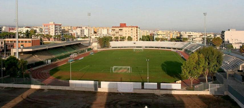 Aerial view of Stadio Vito Simone Veneziani