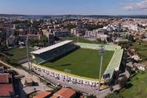 Aerial view of Stadion Aldo Drosina