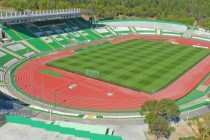 aerial view of stadion beroe