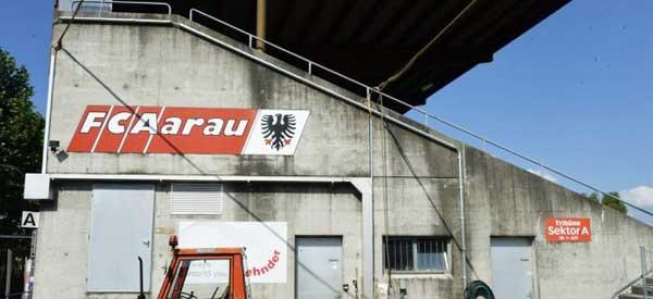 Corner of Stadion Brugglifeld