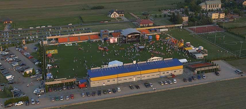 Stadion Bruk Bet's main stand