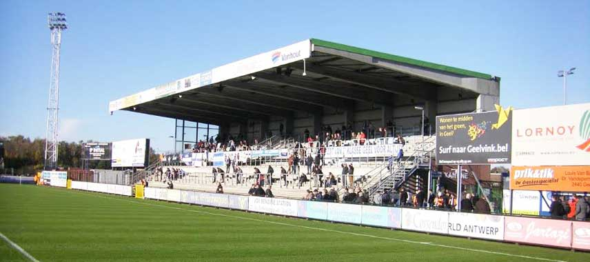 The main stand of Stadion de Leunen