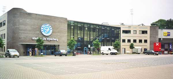 Exterior of Stadion de Vijverberg