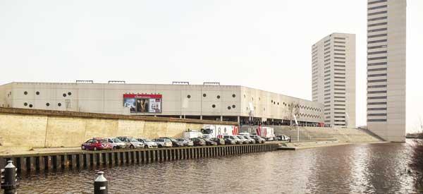 Exterior of Euroborg Stadium