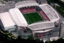 Aerial view of Stadion Galgenwaard