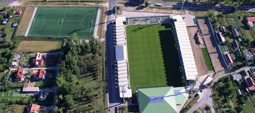 External view of Stadion Gornika Leczna