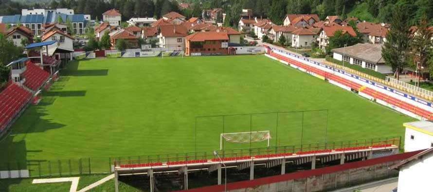 Pitch at Stadion Ivanjica