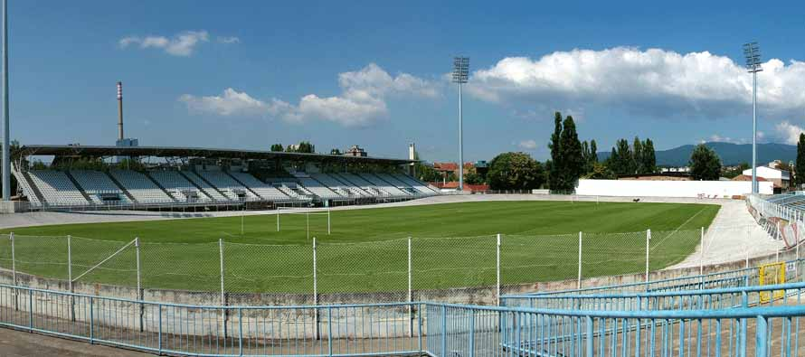The pitch at Stadion Kranjceviceva