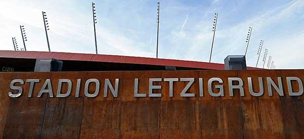 Letzigrund Stadium welcome Sign