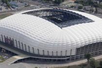 Aerial view of Stadion Miejski