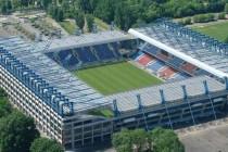 Aerial view of Stadion Miejski Krakow