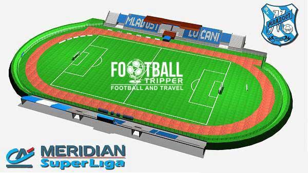 Mladost Lucani Stadium Plan
