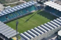 Aerial view of Stadion pod dubnom