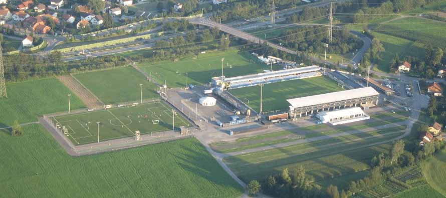 Aerial view of Stadion Schnabelholz