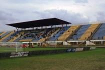 The main stand of Zapresic stadion