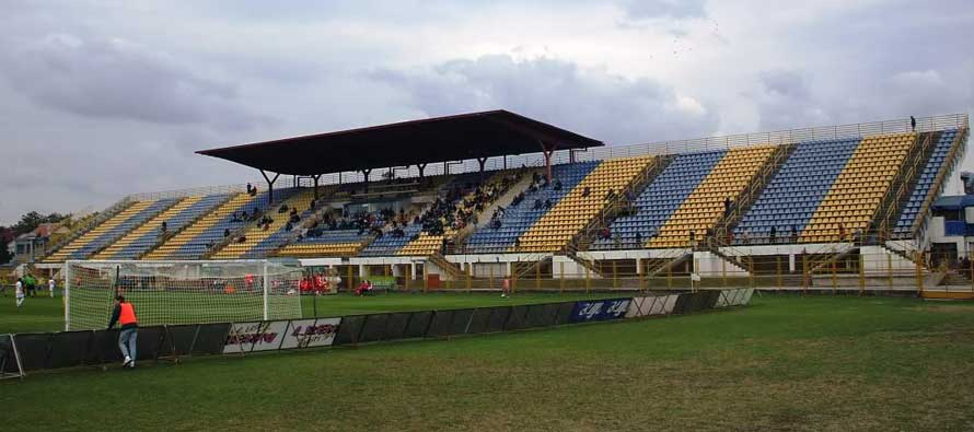 The main stand of Zapresic stadion
