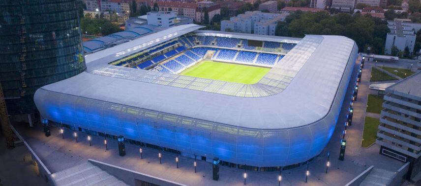 ehelne Pole Stadium Aerial view