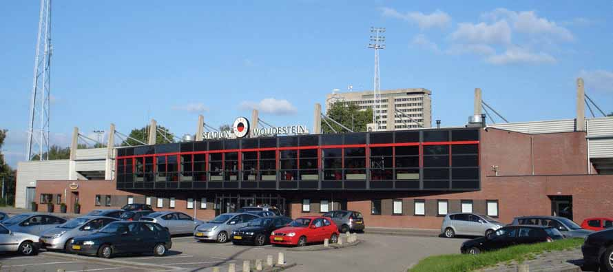 Exterior of Stadion Woudestein