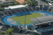 Aerial view of stadion zdzislawa krzyszkowiaka