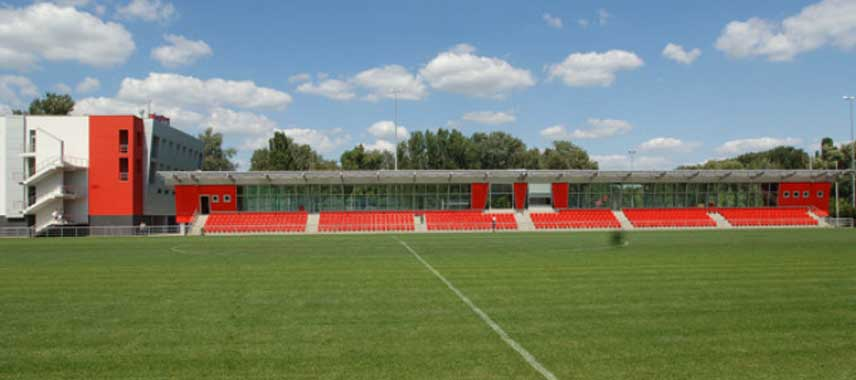 Main stand of Stadionul CPSM