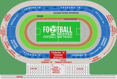 Stadionul Emil Alexandrescu map